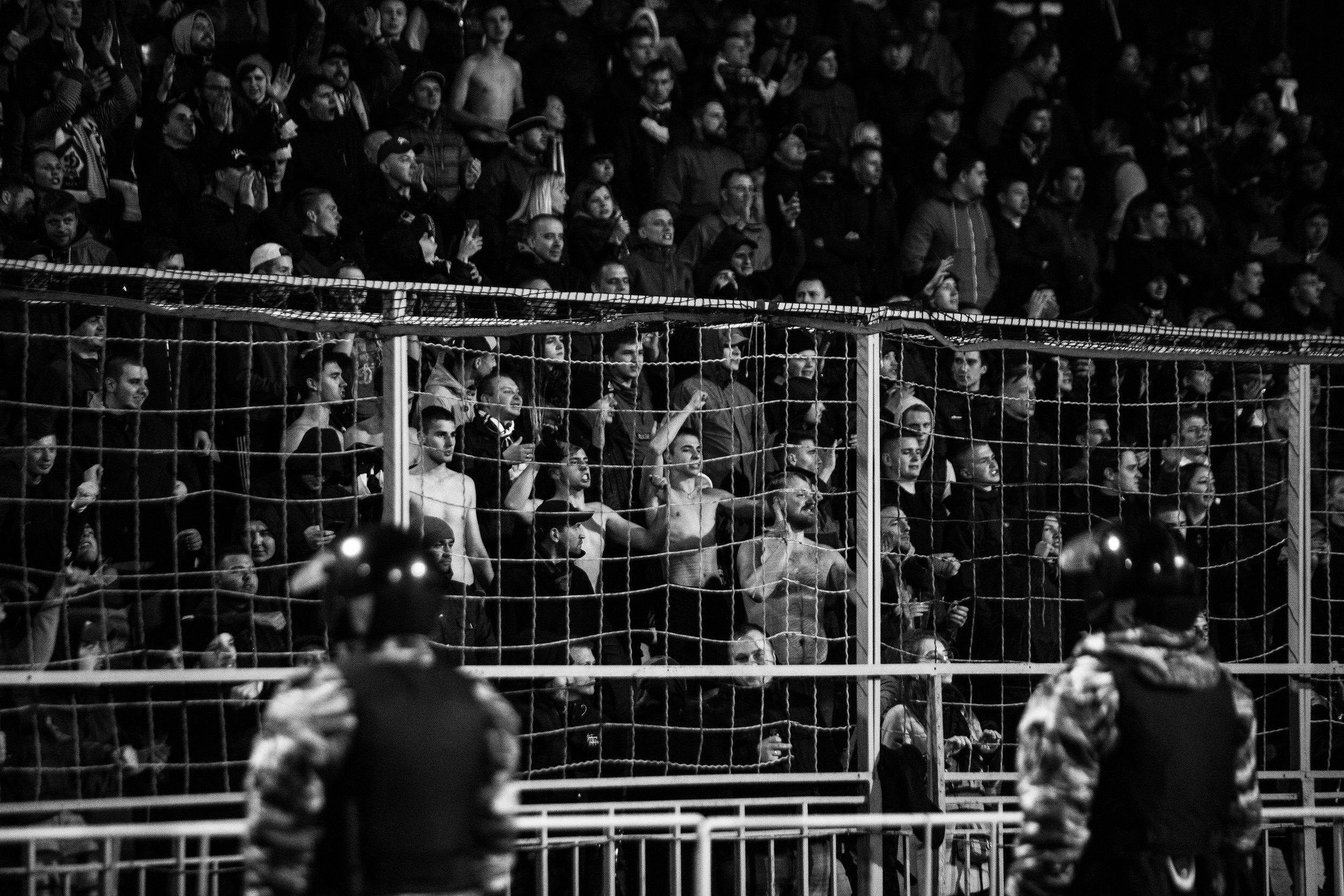Ball, Smoke and old school Ultras