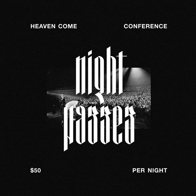 """Y'all! If you couldn't come to the entire conf...NIGHT PASSED ARE NOW AVAILABLE!!!!! . I'm not joking when I say, this weekend will change your life!!!! . Go to bethelmusic.com/heavencome/dallas and click """"pricing"""" to purchase. . . I'm not being paid to advertise for them but I am one of their makeup artists and have already told @brianjohnsonm @jennjohnson20 that I'll follow them to the ends of the earth bc of how they treat people & bc of their hearts. . . . P.S. if you see me, grab me & hug my neck!!!!! . I'd love to hug you back!!! . . #mua #makeup #makeupartist #conference #live #worship #bethel #bethelmusic #bethelworship"""