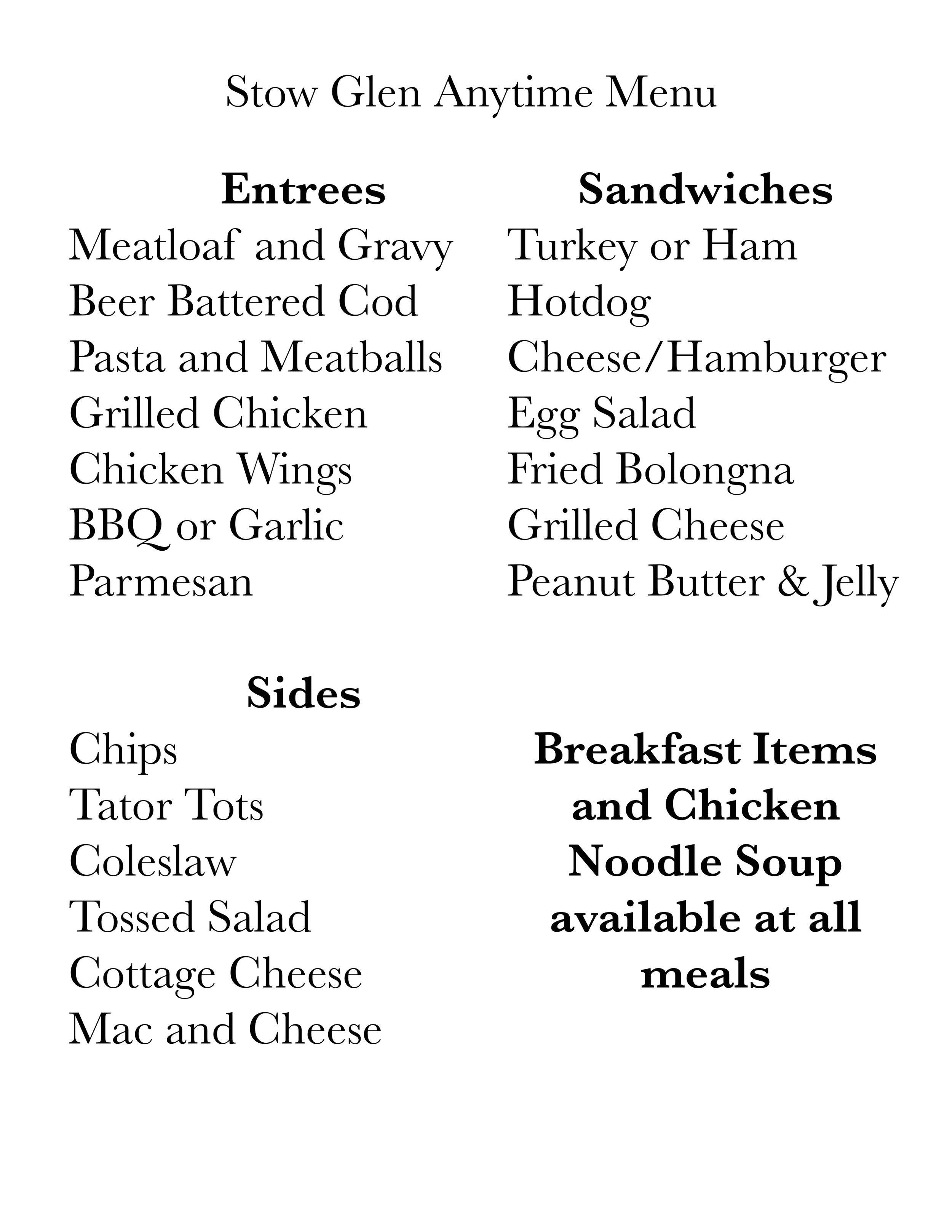 stow glen anytime menu.jpg