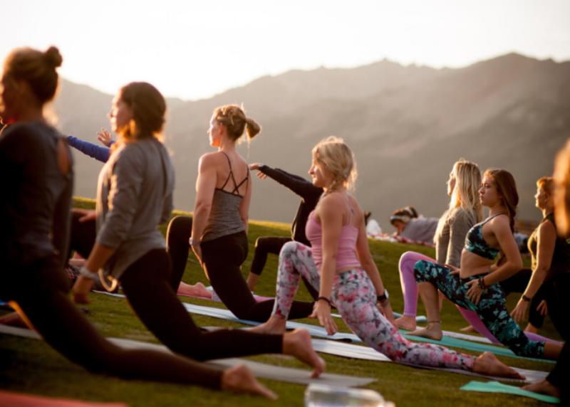 colorado's yoga festivals -