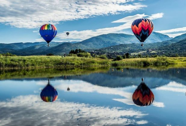 Pushing the sky - Hot air ballooning's lift off from the Rocky Mountain State