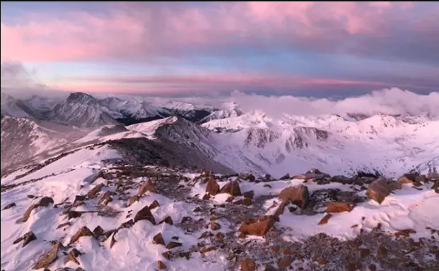 andrew hamilton becomes first to summit all colorado 14ers in one winter -