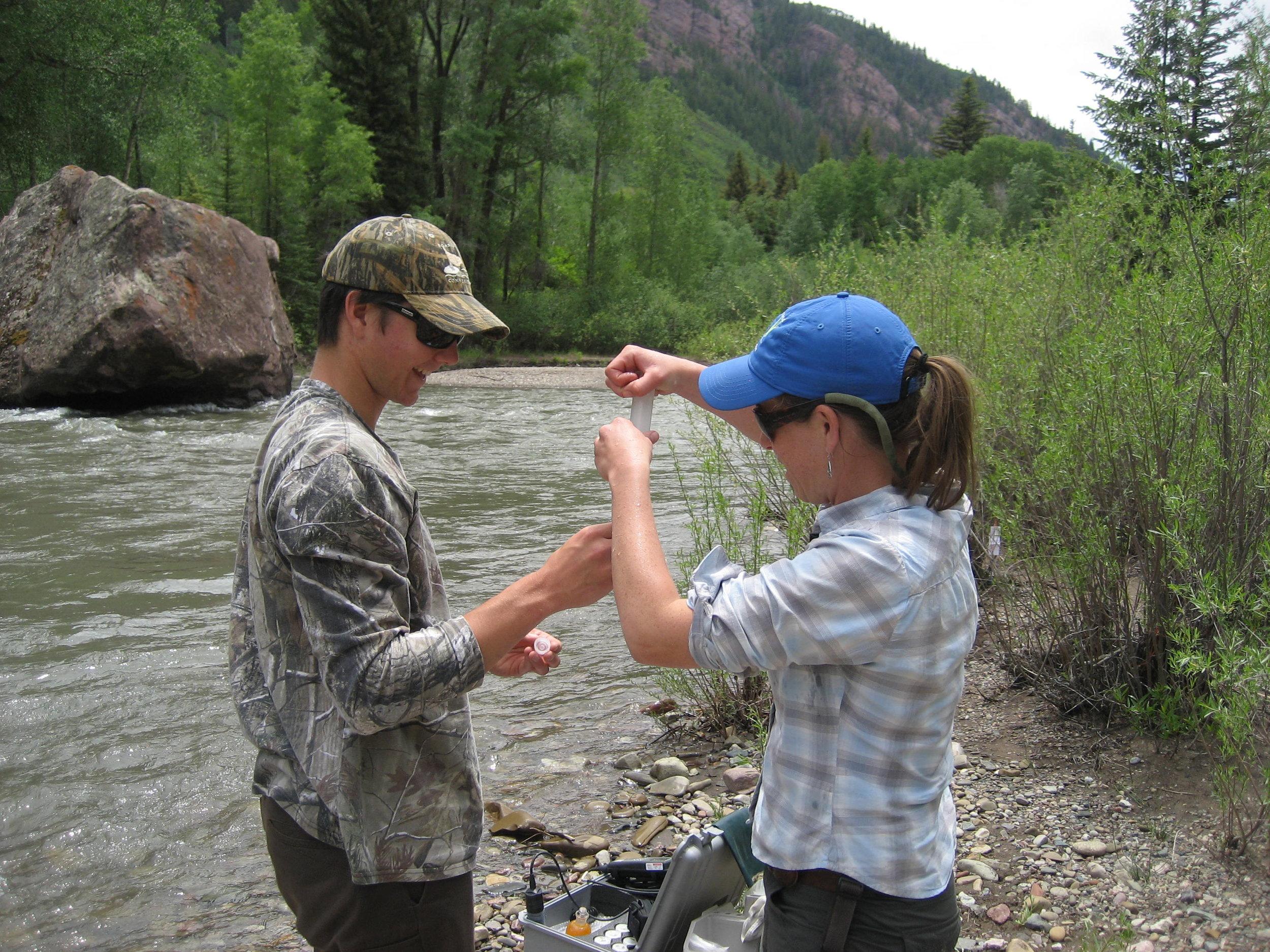 The colorado footprint - How citizen scientists are keeping Colorado waterways healthy.