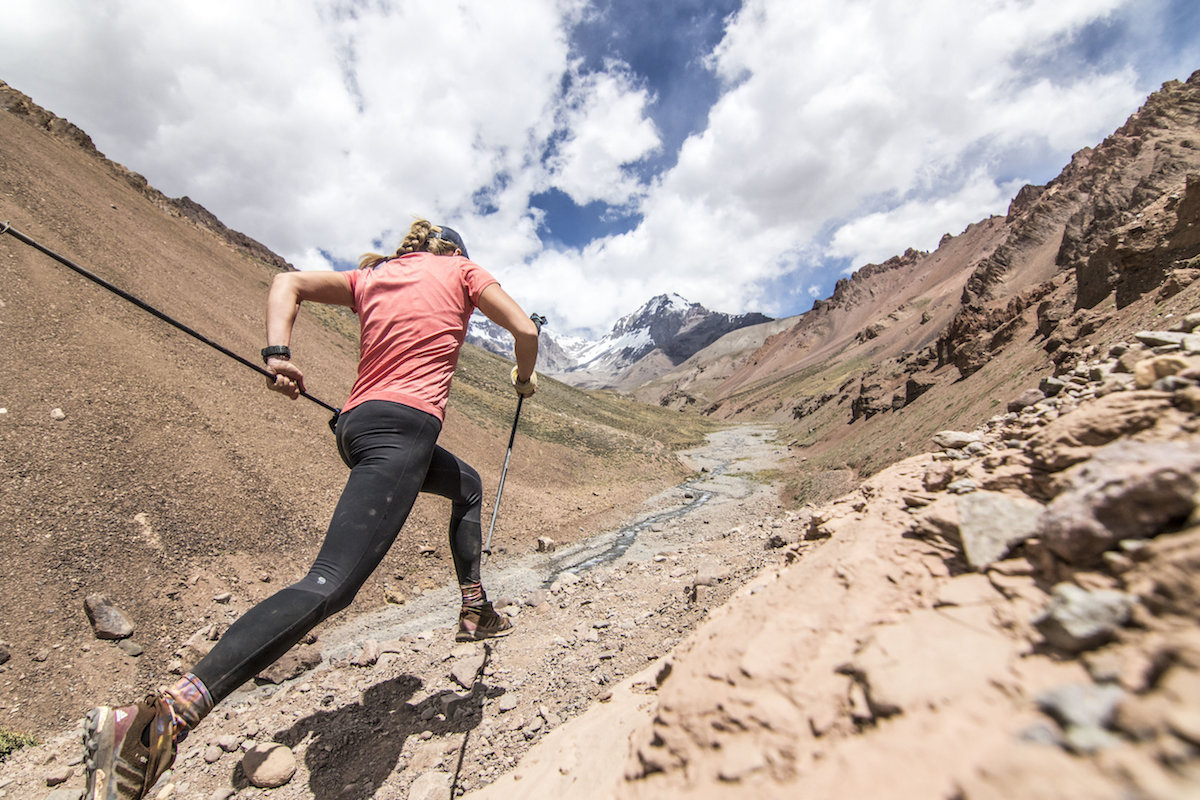 Full circle - How and why Sunny Stroeer became the  first woman (and third person) to finish Aconcagua's 360 Route in a solo push