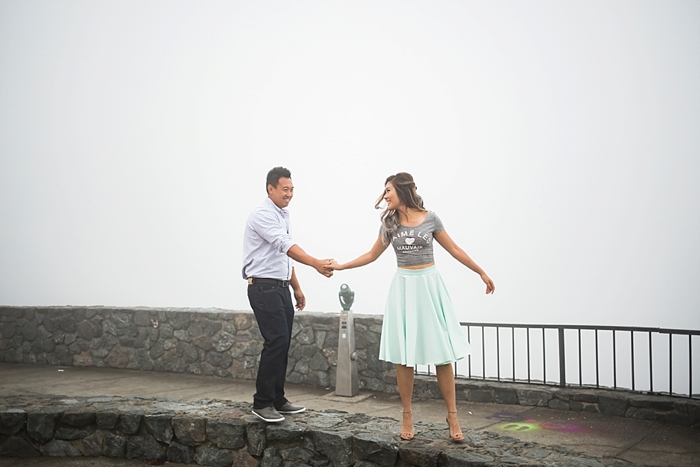 Twin Peaks San Francisco Engagement Photography | Lilouette