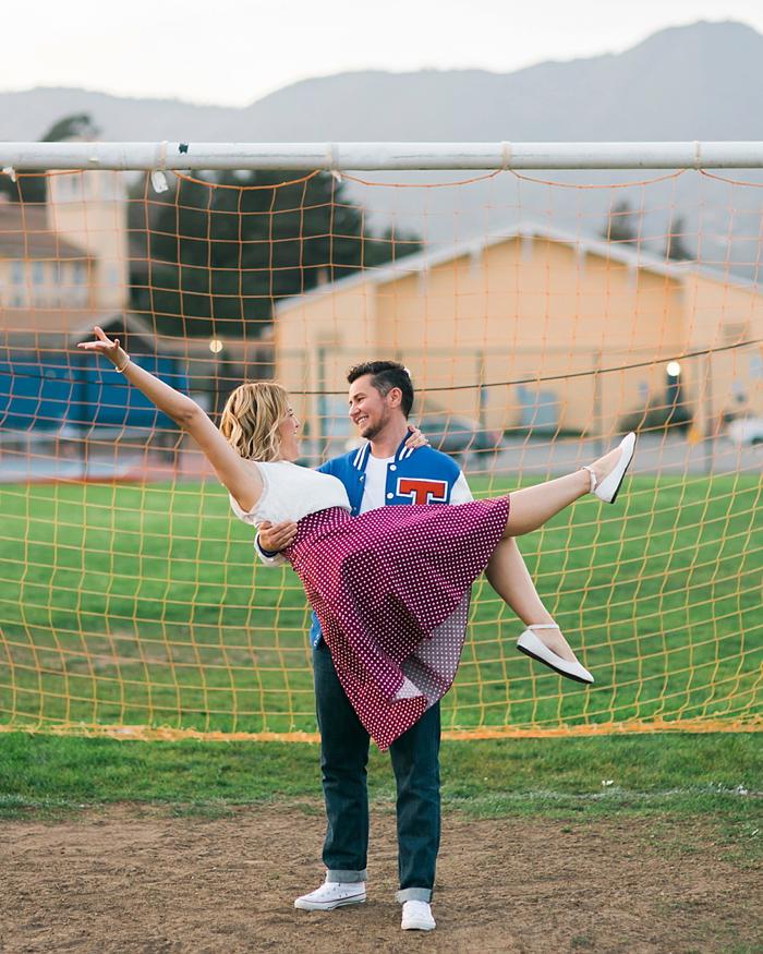 Tamalpais High School Engagement Photography | Lilouette