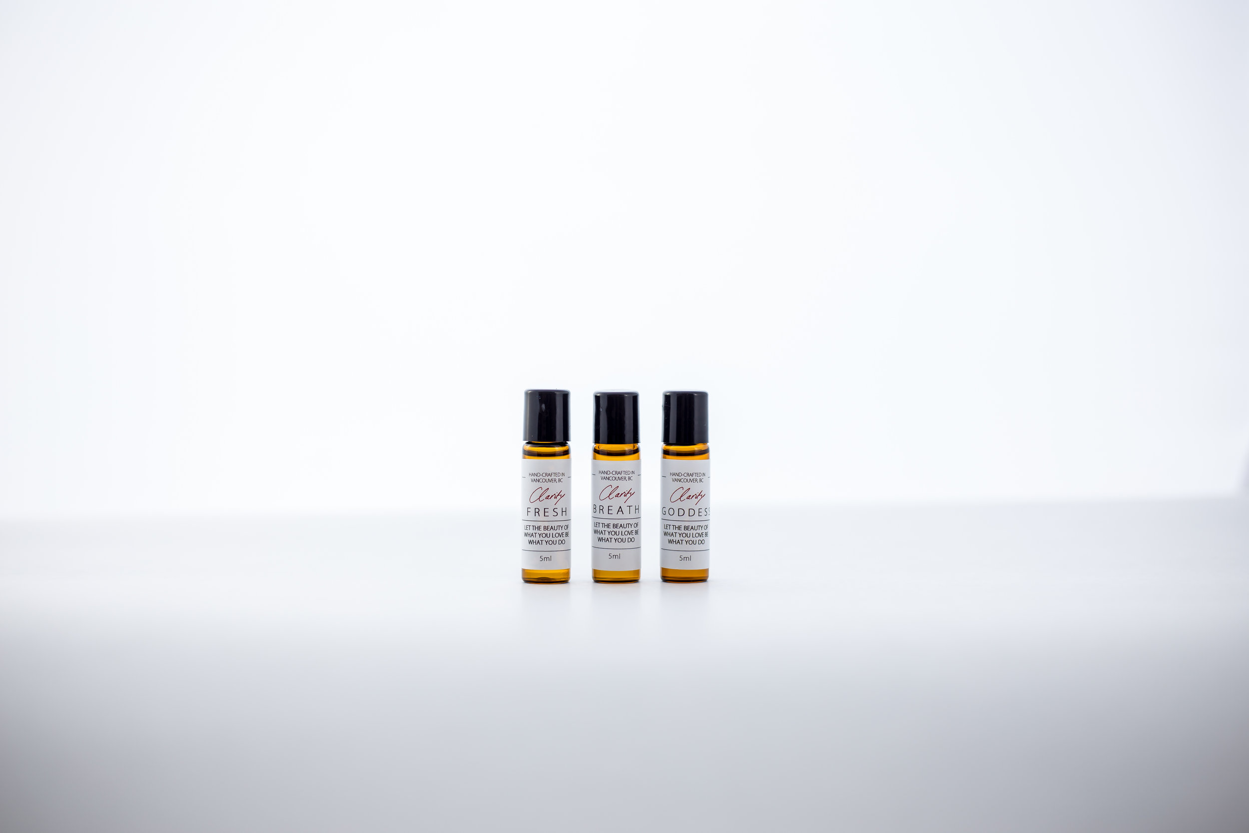 Pure Essential Oil Roll Ons