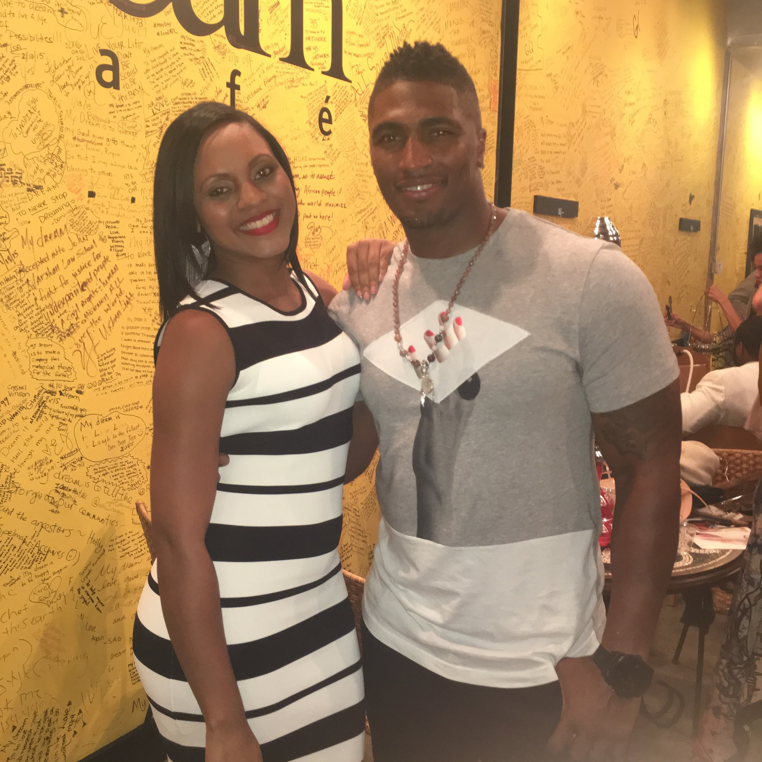 Maria Wills and Stevie Baggs Jr.