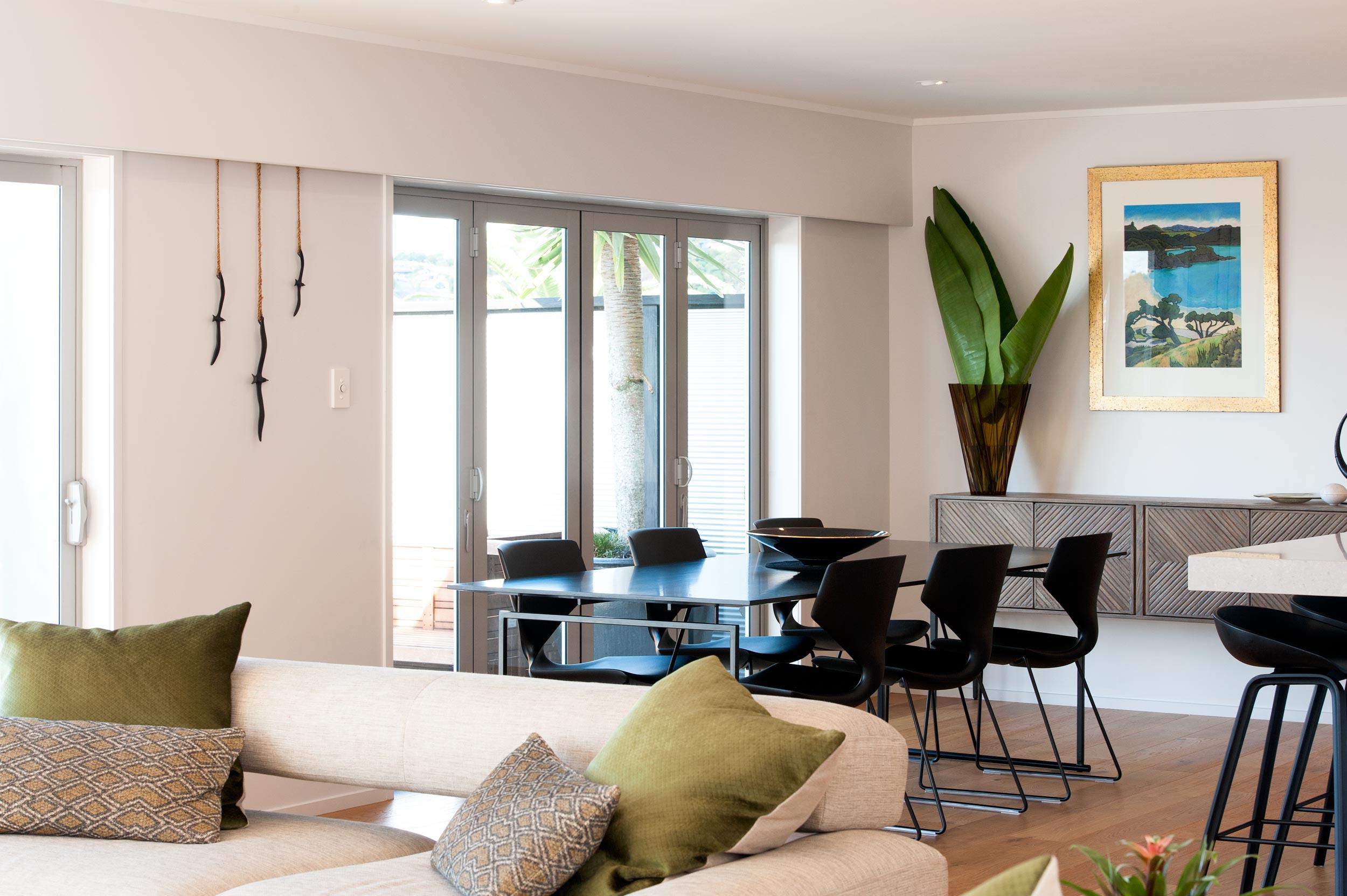 Kirsten Ford Design renovation living room dining