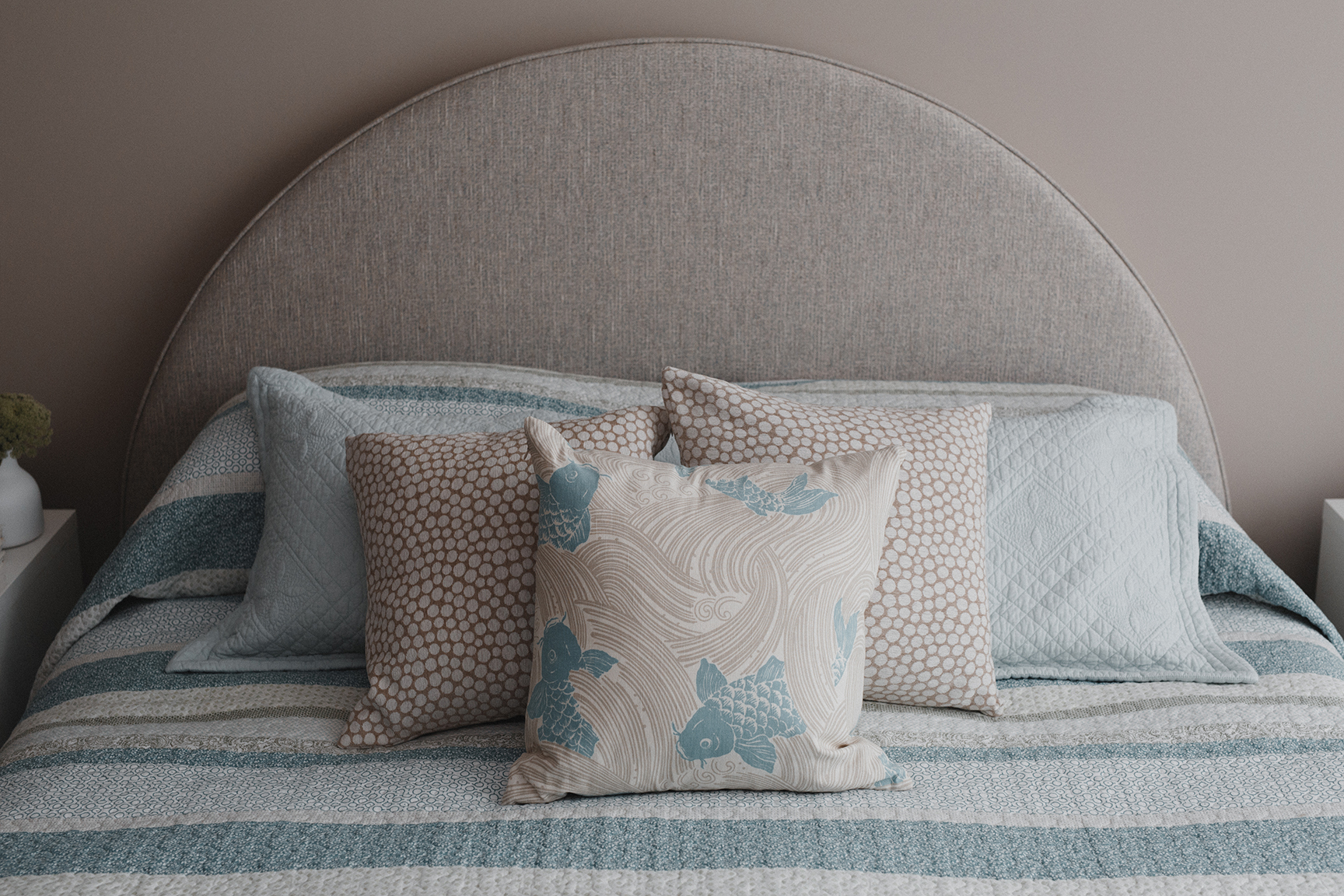Kirsten Ford Design-Ocean Edge Apartment-Bedroom-1