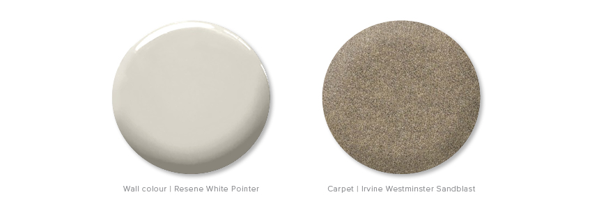 Kirsten Ford Design-Living Room Layers-Carpet and Paint
