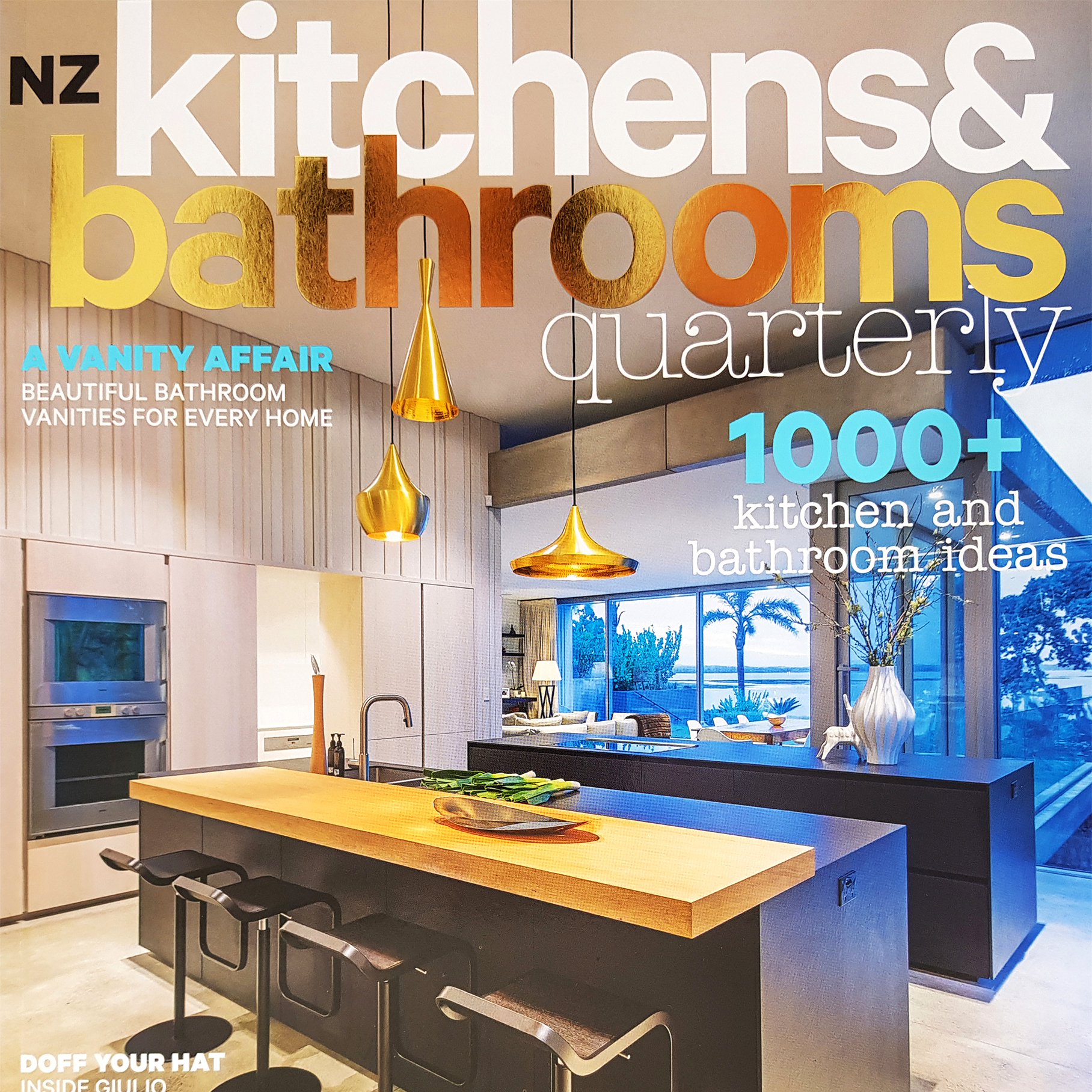 Kirsten Ford Design features in the NZ Kitchens & Bathrooms Quarterly edition. Click to read more…