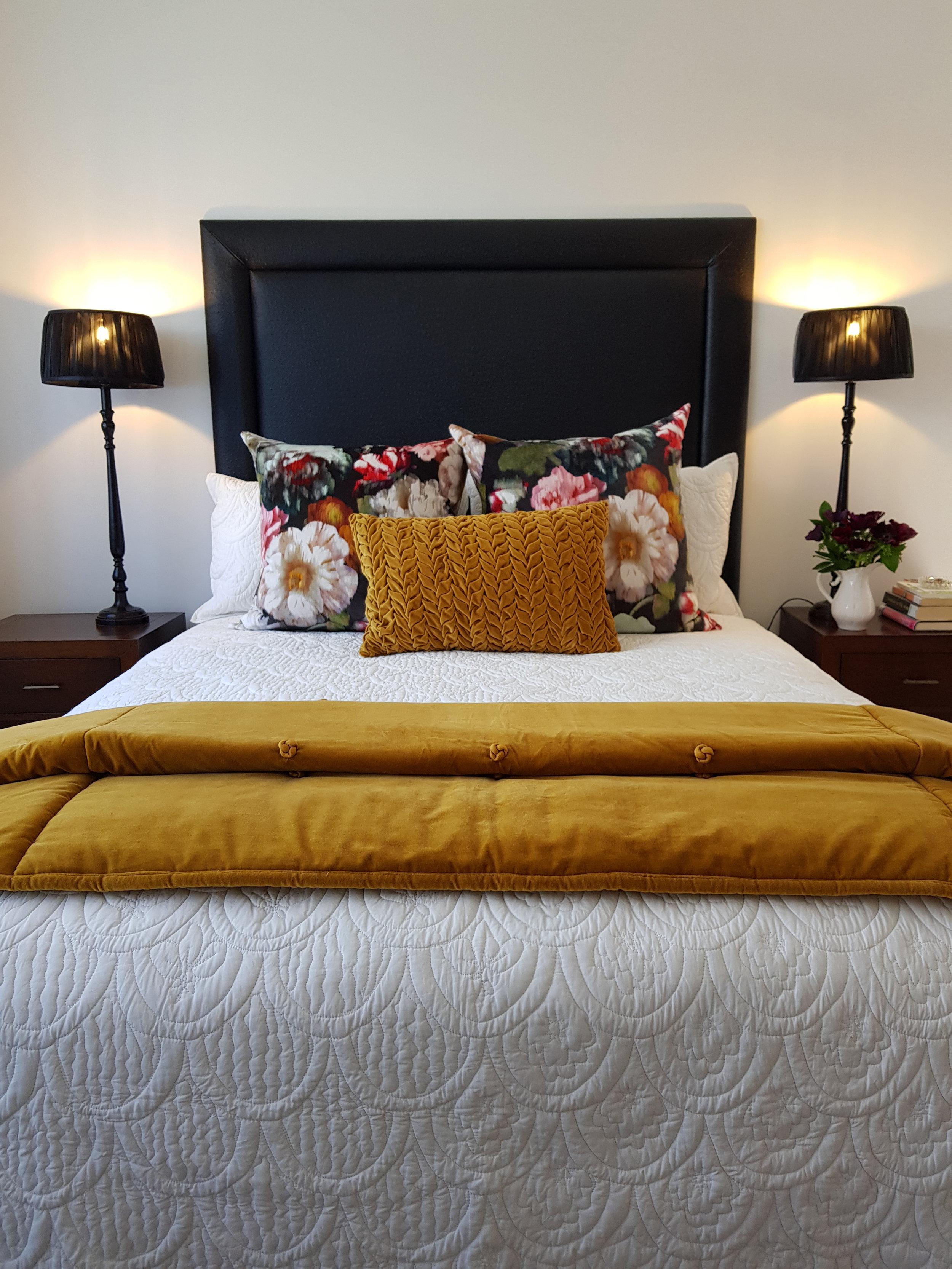 Kirsten Ford Design-Heirloom Inspired Bedroom 1