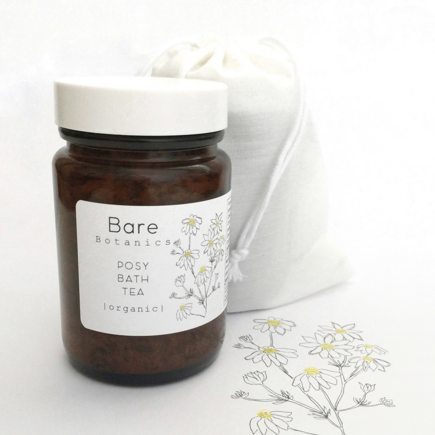 ILLUSTRATION / Bare Botanics - Since 2016 I have been illustrating botanical ingredients for the gorgeous local organic skincare range Bare Botanics, seen across their packaging and online shop.