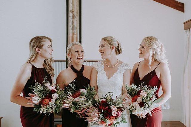 Renee and her gorgeous ladies 🌿🌿 photo by @carvingagiant at @evedonlakesideretreat #thewildstem #thewildstemweddings