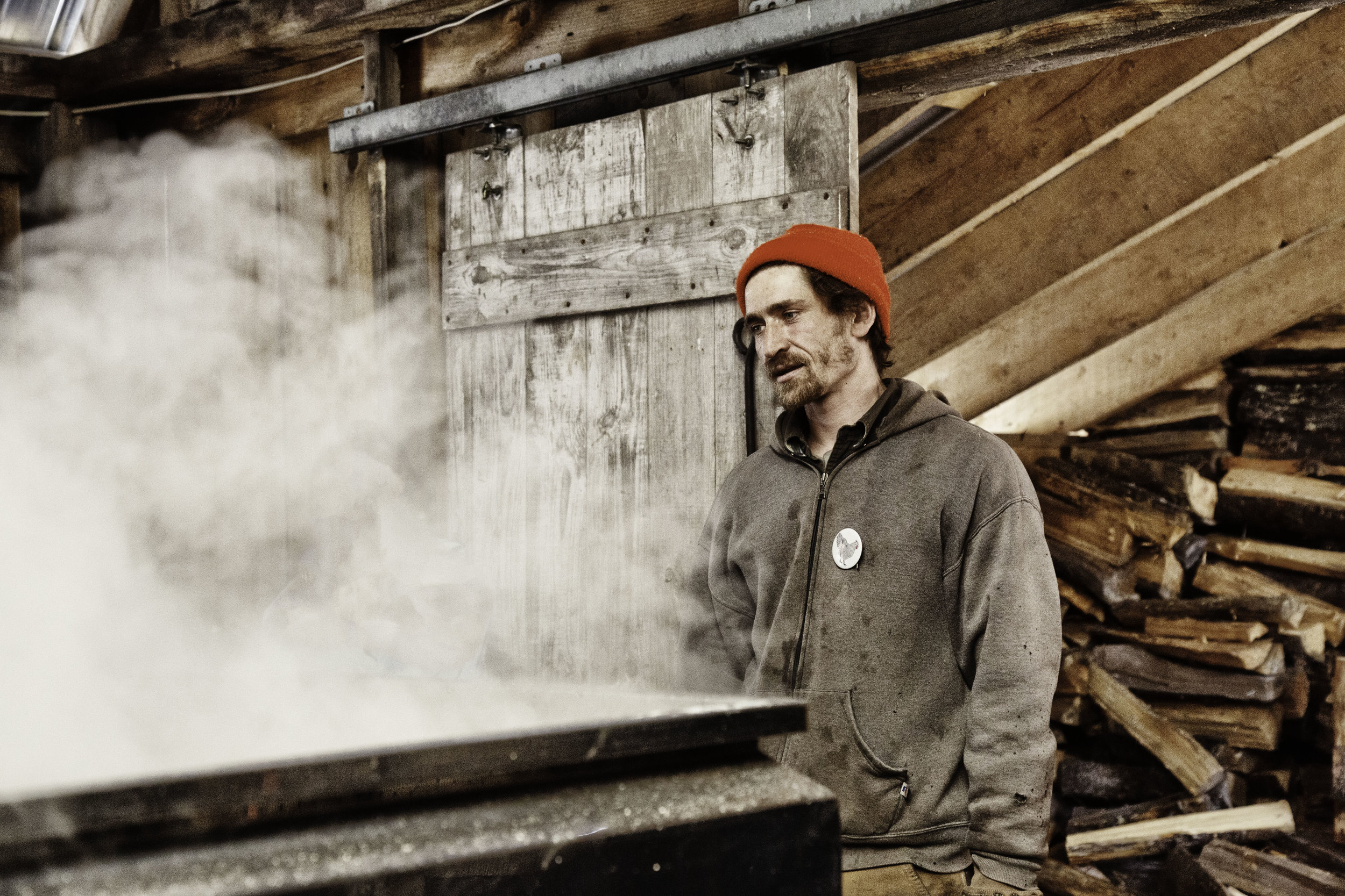 Maple sugaring at the Kearsage Gore Farm