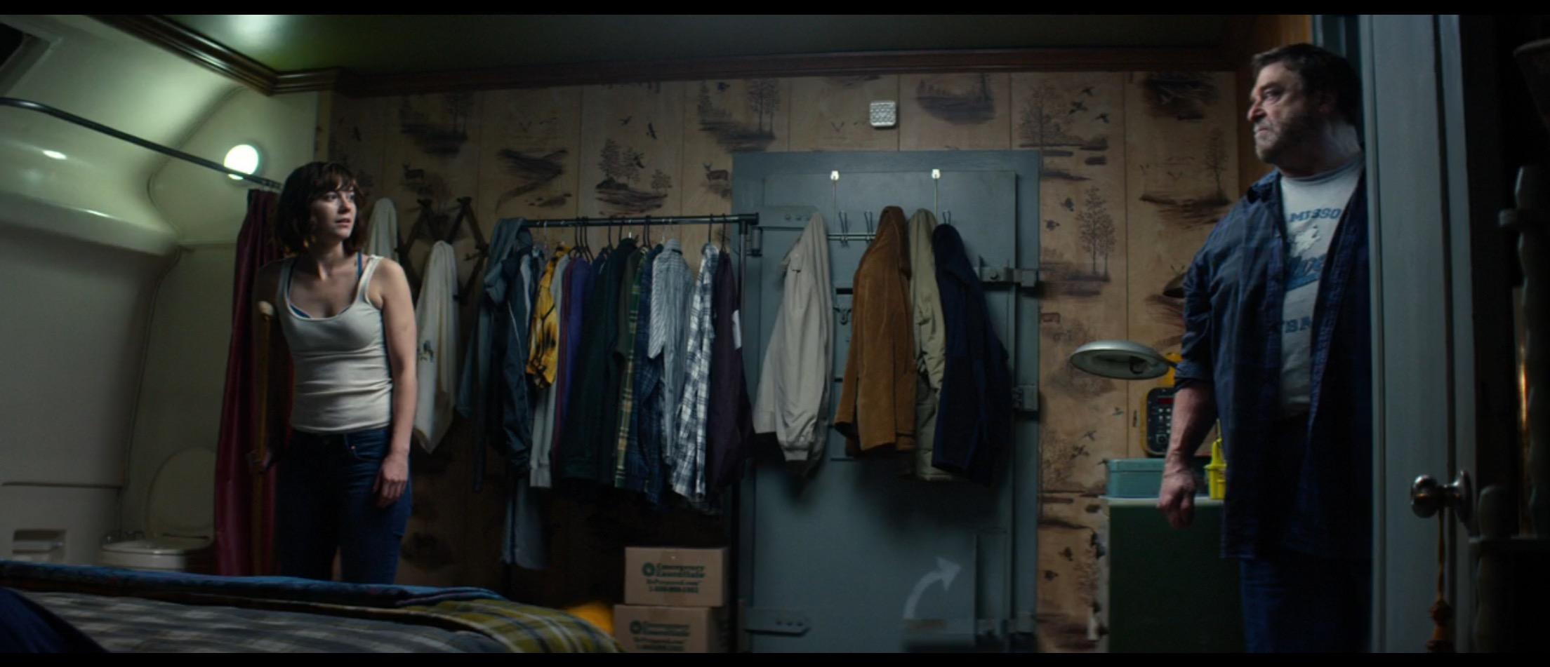 John Goodman is creepy in a bunker in '10 Cloverfield Lane.' (Screenshot courtesy of Paramount)