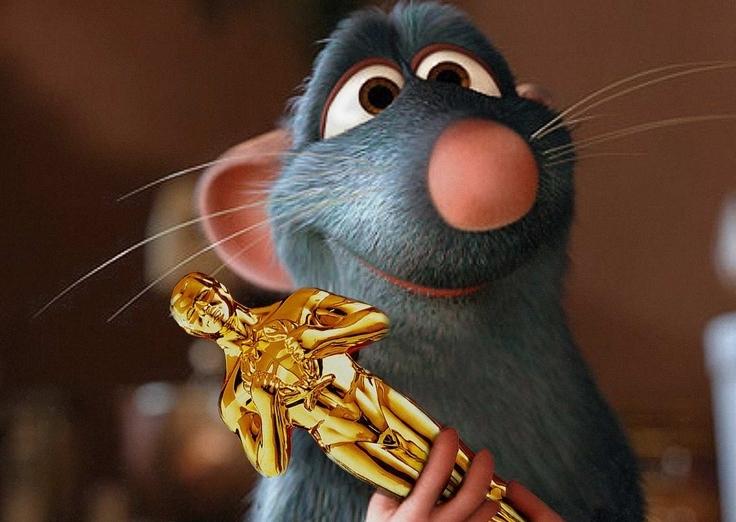 Remy won an Oscar once.