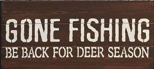 "M1: Gone Fishing (10"" x 21"")"