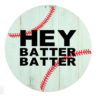 "G1: Hey batter batter (14"" round)"