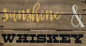 "W2: sunshine & whiskey (10"" x 21"")"