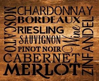 """W11: Wines (14"""" x 14"""")"""