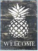 """X11: Welcome Pineapple (10"""" x 21"""")"""