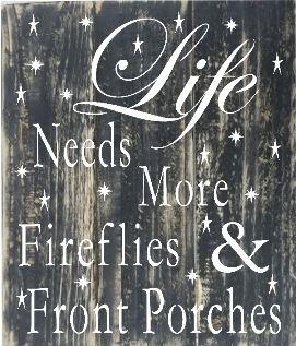"TL3: Life needs more fireflies (14"" x 21"")"