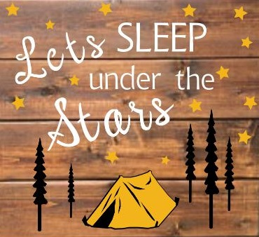 "TL4: Lets sleep under - tent (14"" x 14"")"