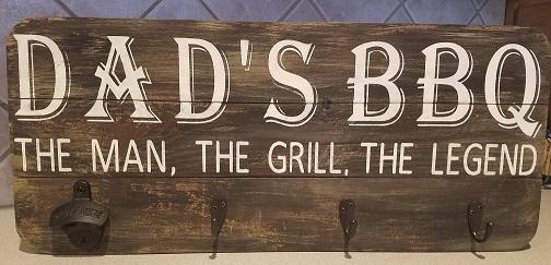 """MP2: Dad's BBQ (14"""" x 21"""")"""