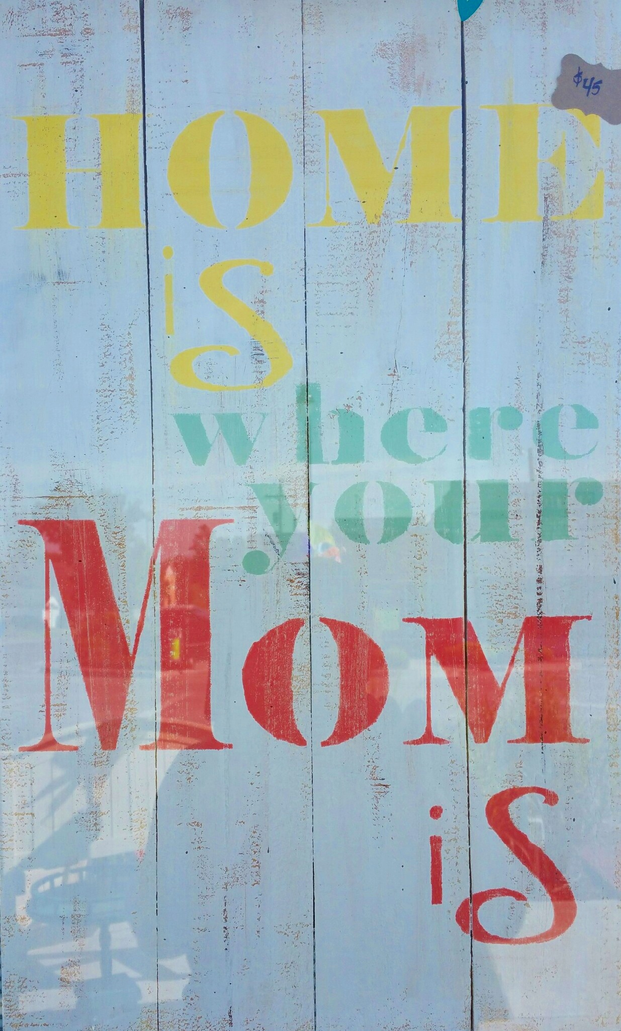 """Mom3: Home is where your (14"""" x 21"""")"""