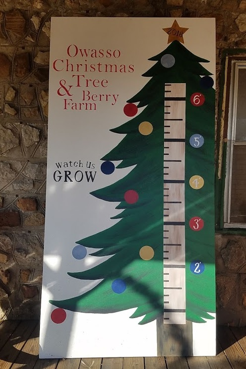 Yard Art - Growth Chart