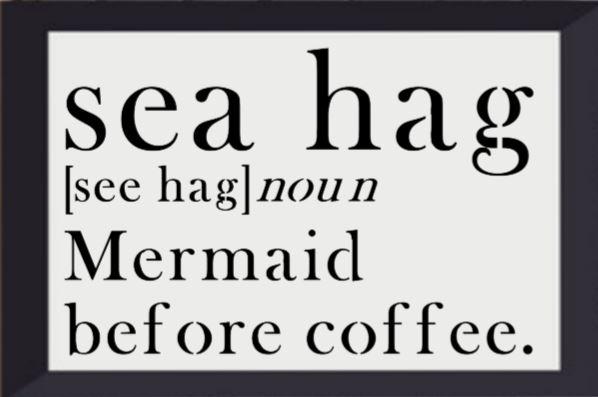 """S16: Sea Hag (10"""" x 16"""")"""