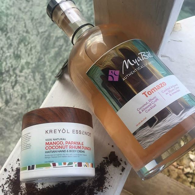 It's summer time 👙 it's time for great skin and great drinks... 🗣️ We like our skin products just like we like our alcohol #madeinhaiti . . . . . #Craftcocktail #agriculture #haitimade #Haiti #mango #rhum #punch