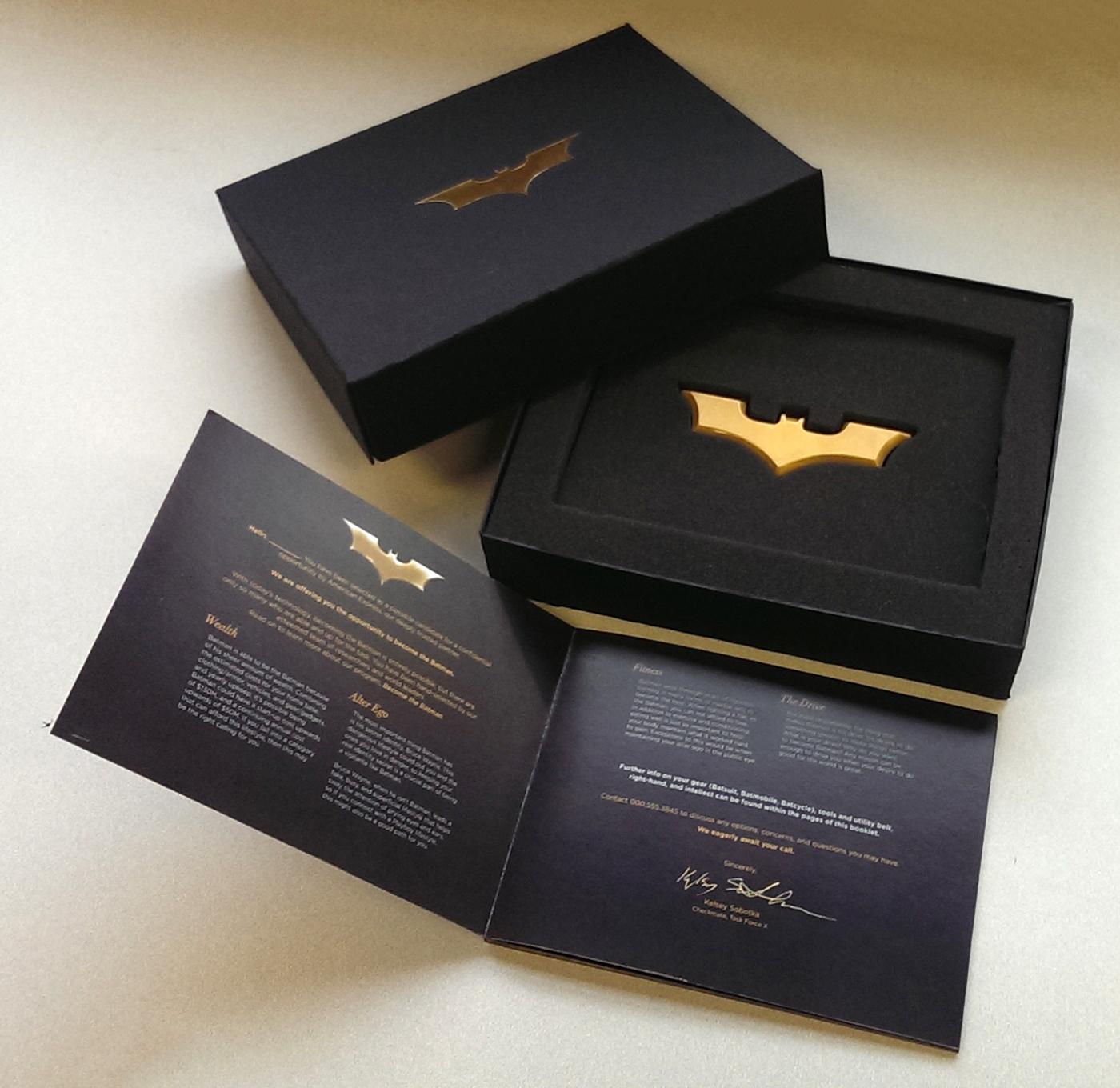 Become the Batman