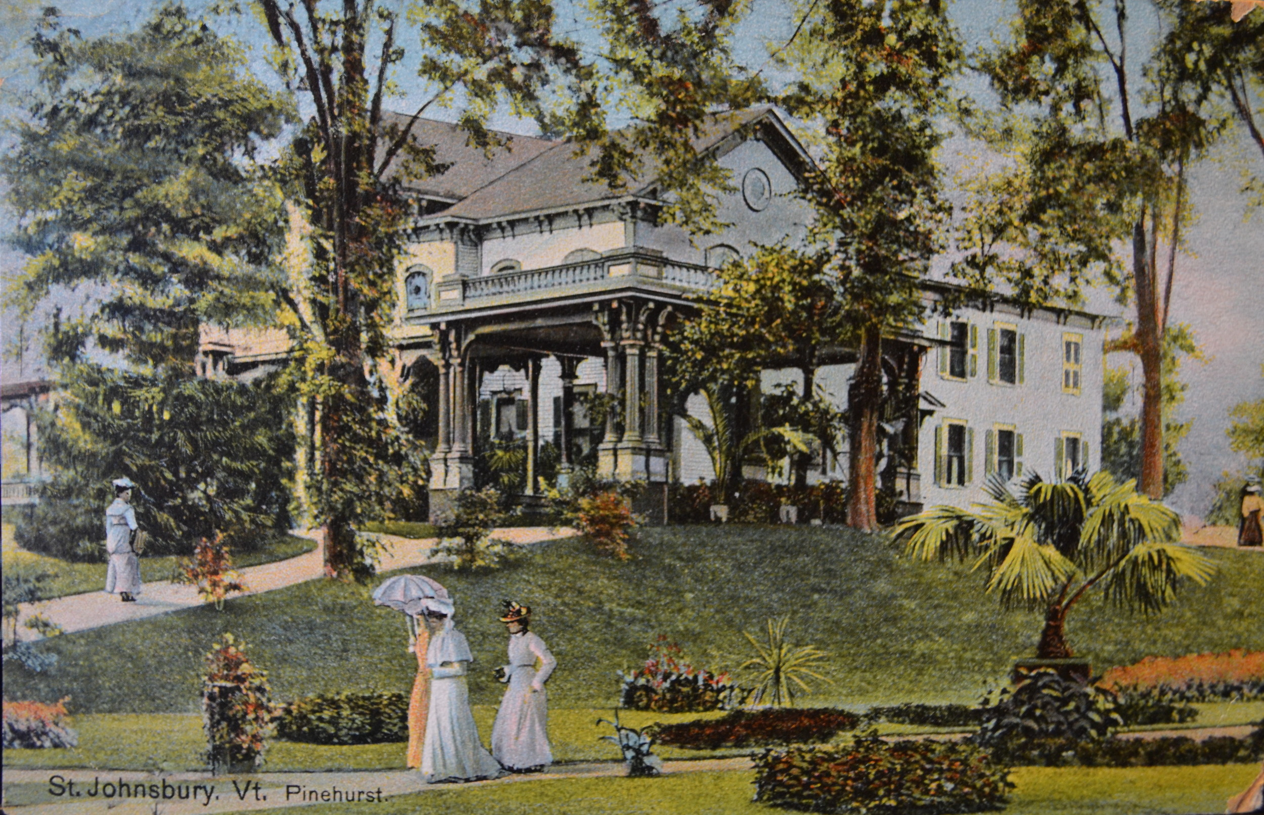 (Pinehurst. Image. George Heon collection. St. Johnsbury Athenaeum, St. Johnsbury, VT.)