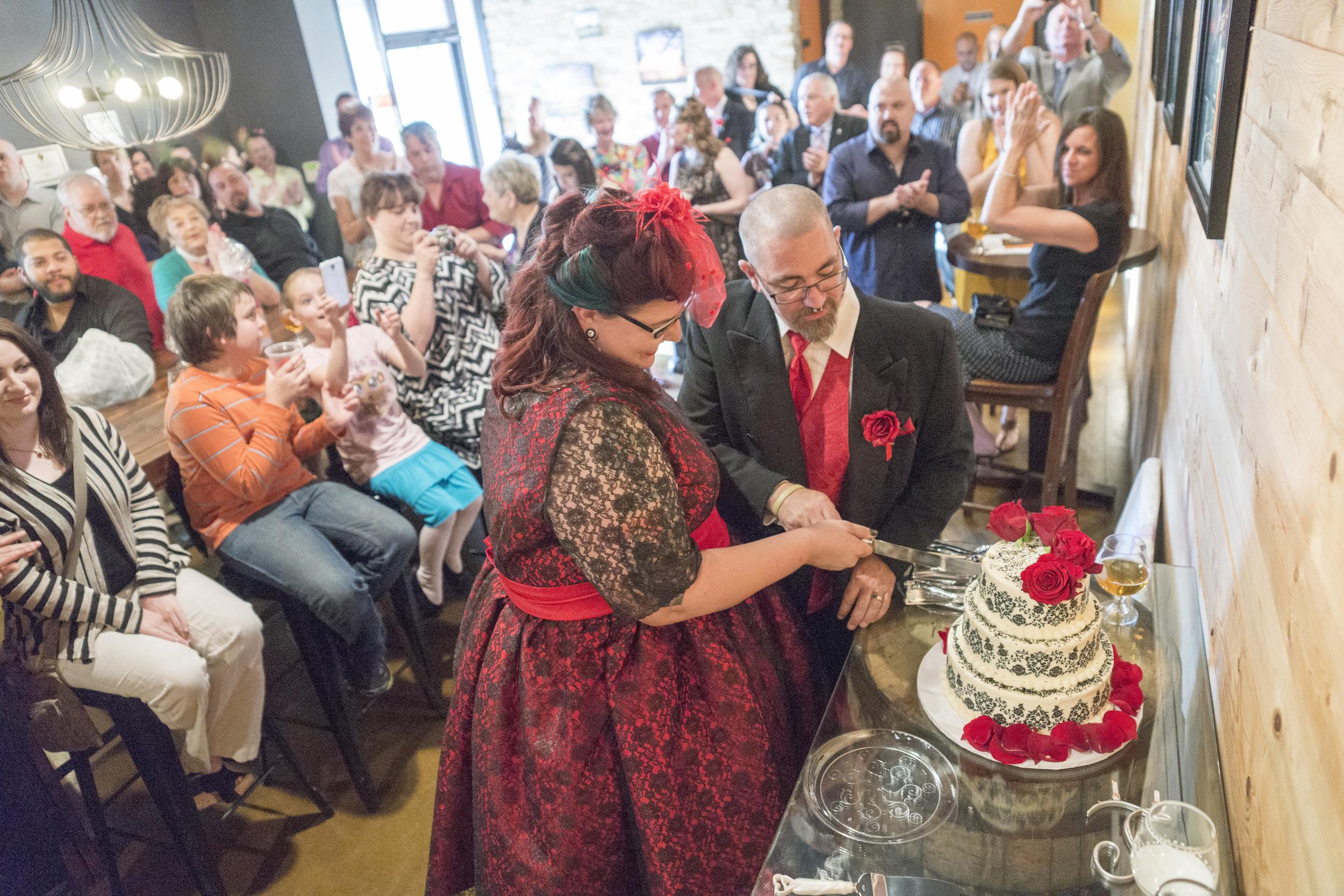Wedding at Lakewood Brewing Company