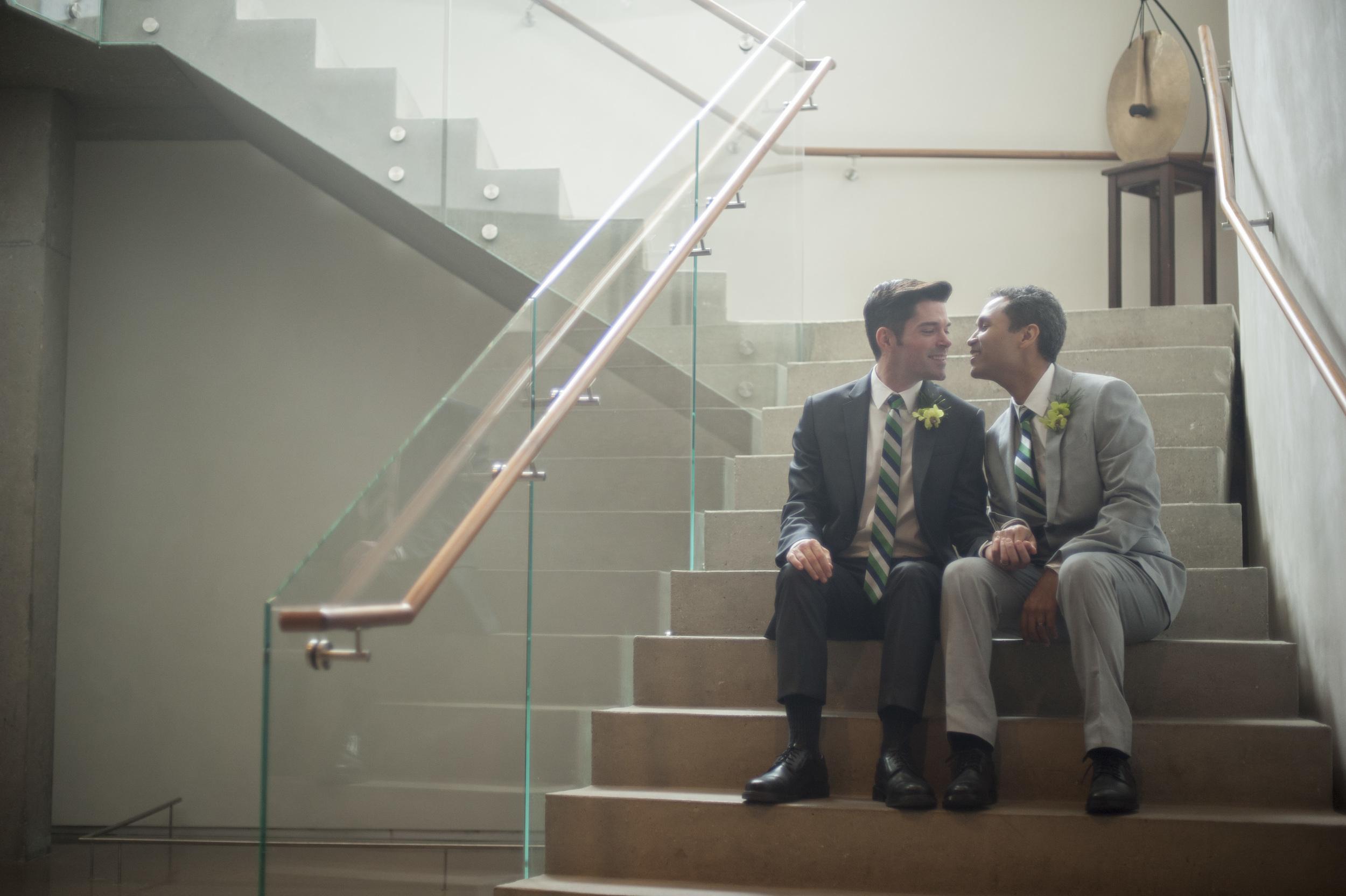 Wedding at Interfaith Peace Chapel in Dallas