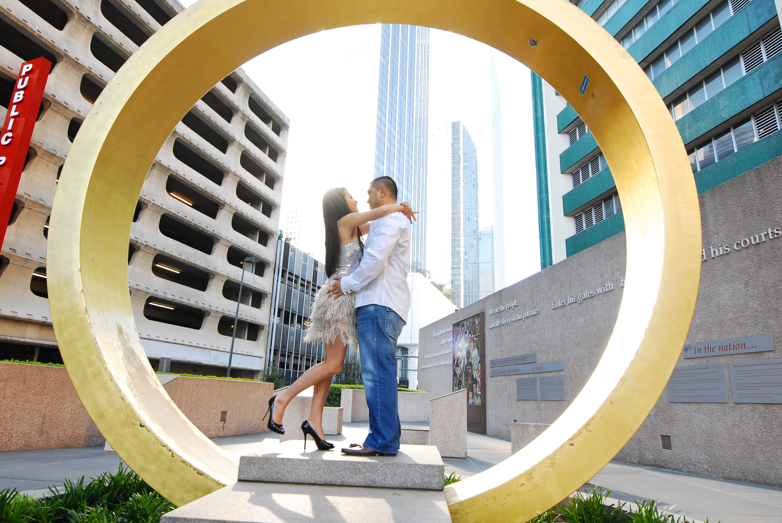 Engagement Photography Thanksgiving Square