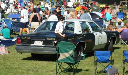 Our Blues Brothers 2000 Bluesmobile