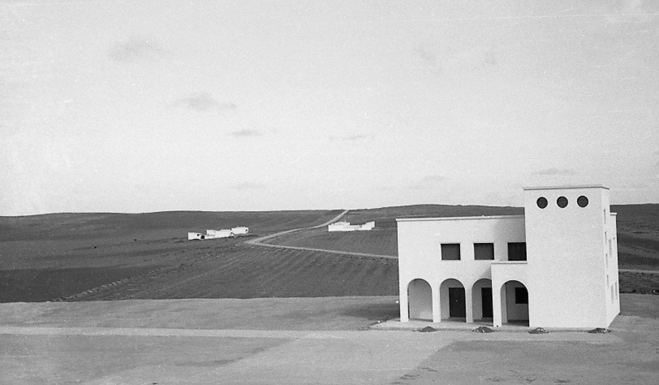 Villaggio Breviglieri, Tripolitania, 1938. U. di Segni, Ente per la Colonizzazione della Libia.