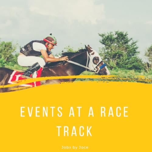 Race Track Events Jobs by Joce Jocelyn Harper