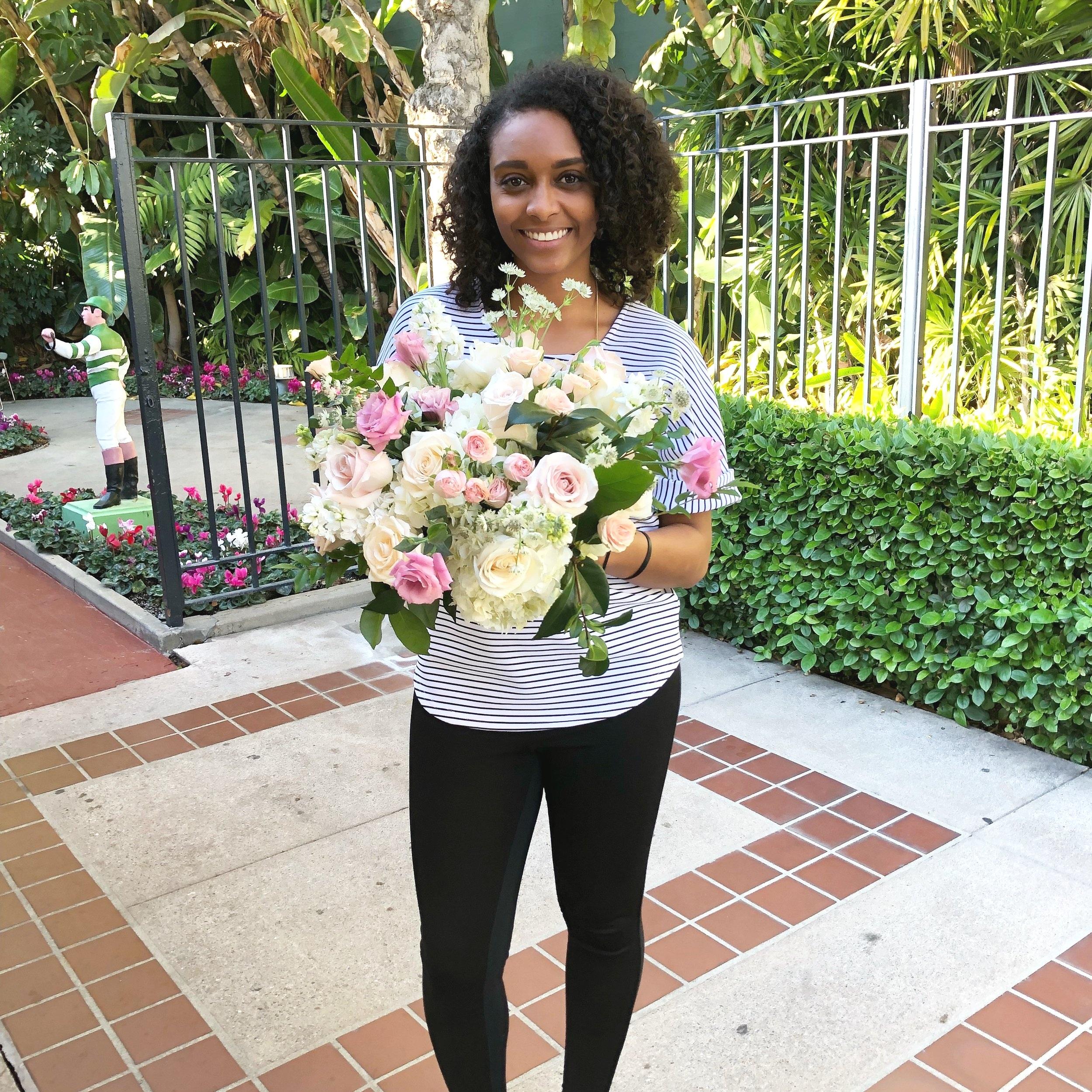 Blogging for wedding florist. - The prettiest remote job ever.