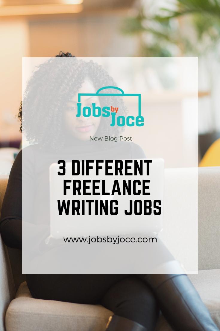 Jobs by Joce Freelance Writing Jobs