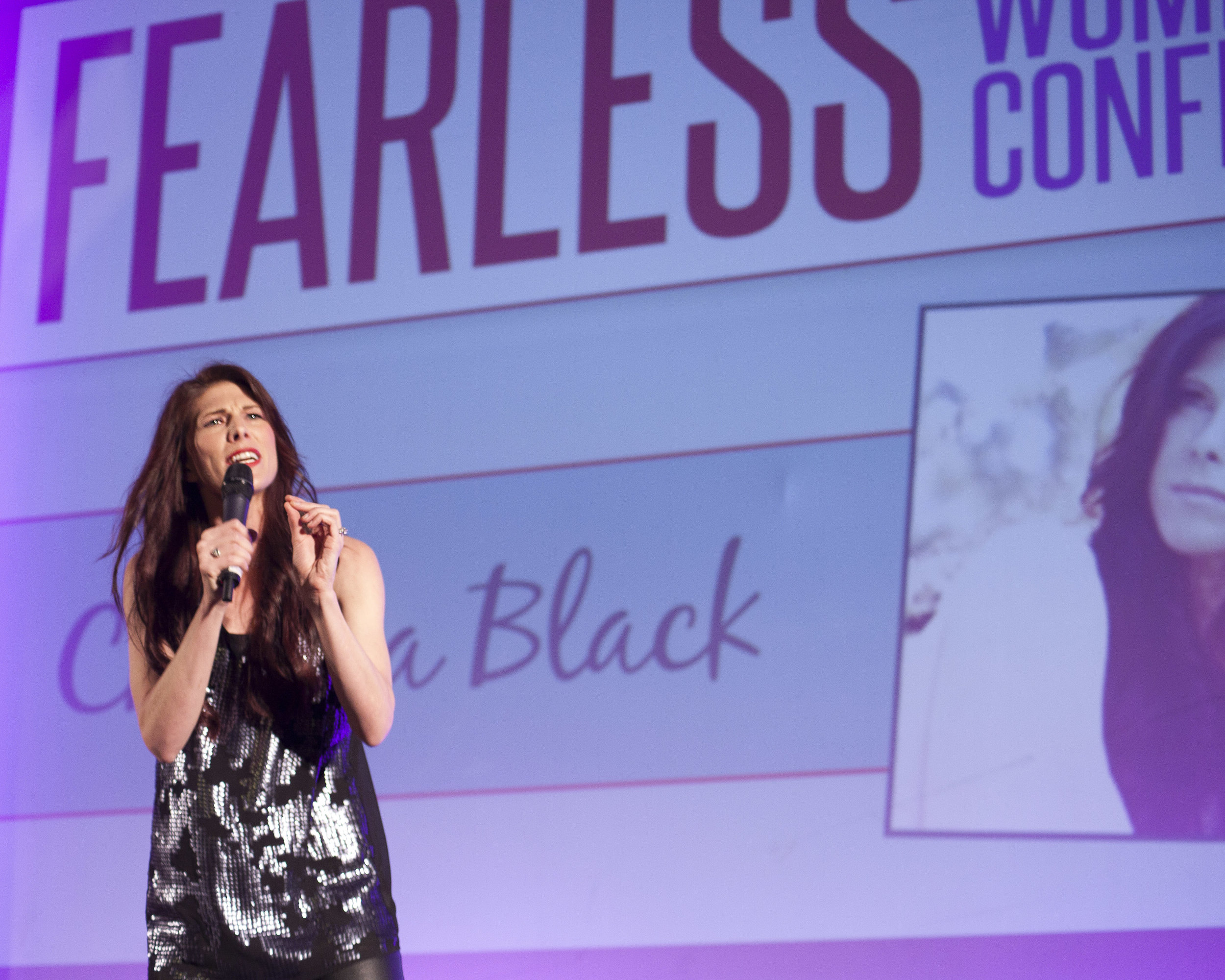 Christa black, fearless women's conference