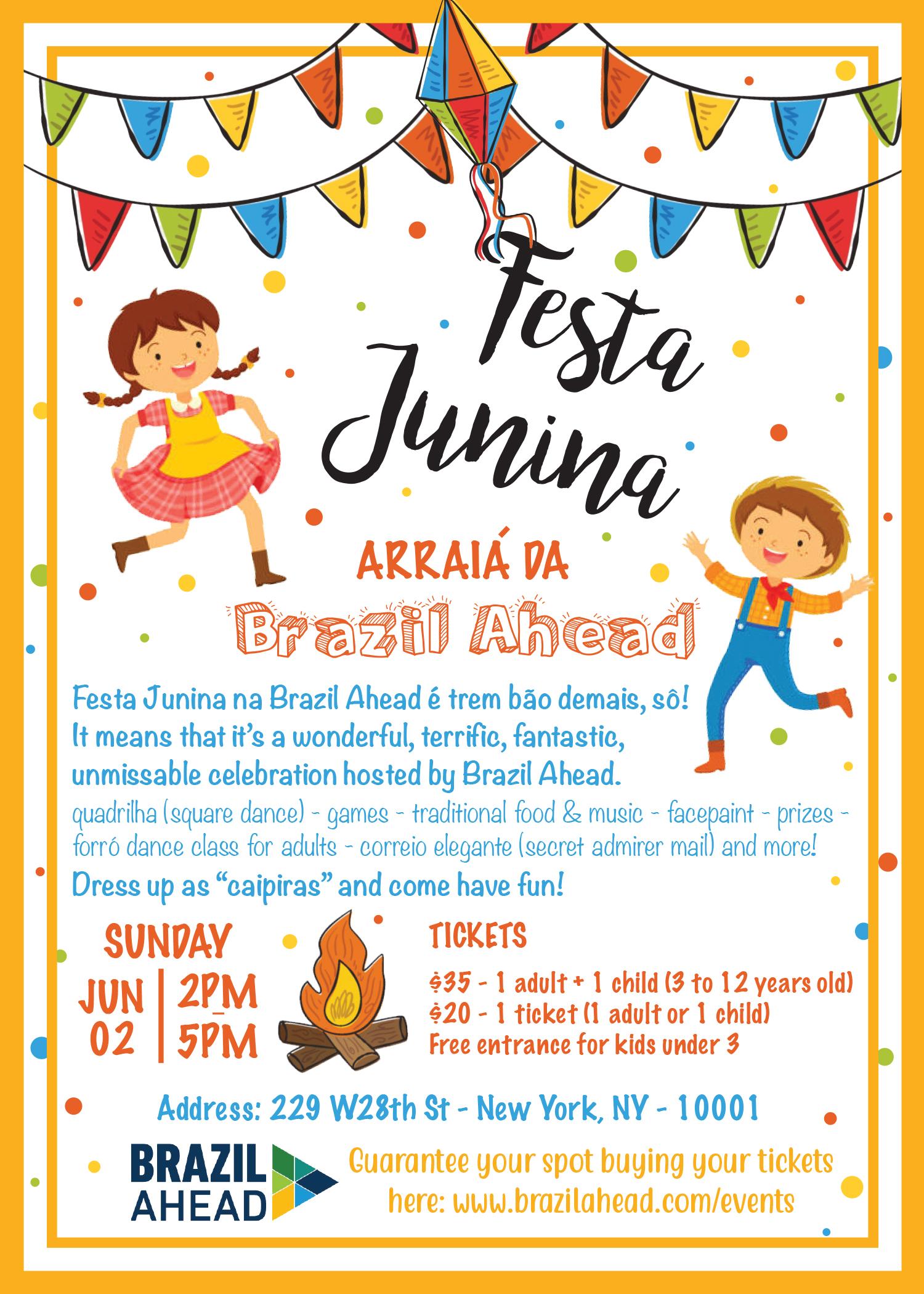 Brazil Ahead Festa Junina em NY