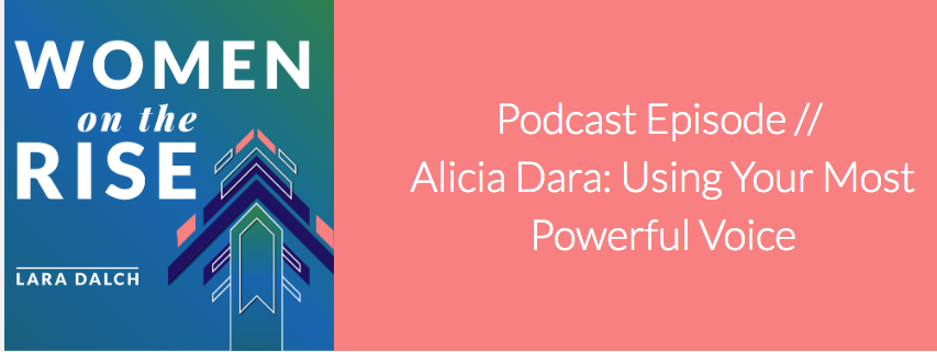 Podcast Interview - Alicia talks about self-care for your voice, her own self-care routine, and what a strong voice feels like.