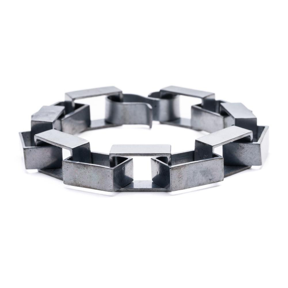 Large Square Links Bracelet