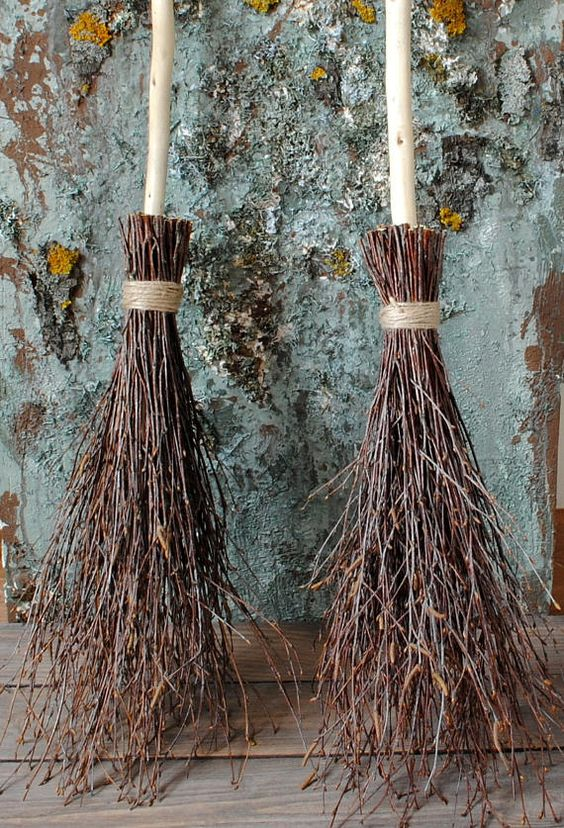 birch witch's brooms