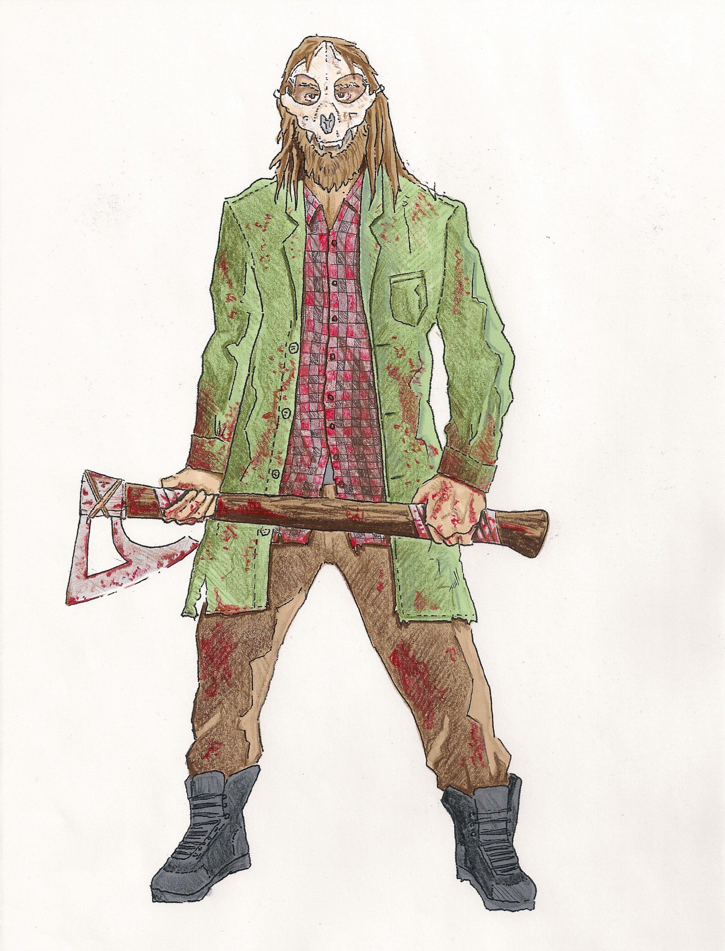 The Dweller Concept Sketch